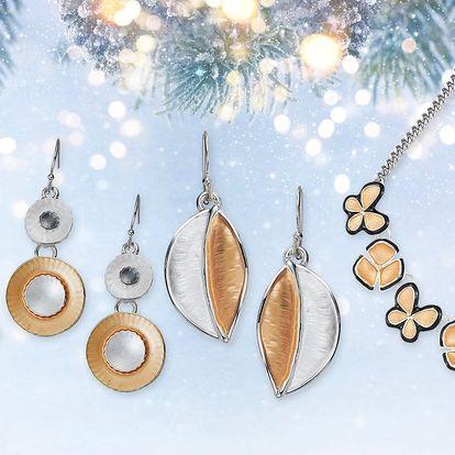 Krásné barevné náhrdelníky Intrigue