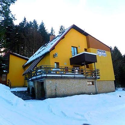 Relaxační pobyt v Beskydech pro dva na 3-8 dní. Výborné jídlo a relaxace v sauně.