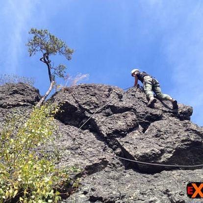Via Ferrata - kurz horolezectví na Vodní bráně u Semil vč. vybavení