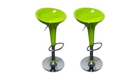2x Barová židle Hawaj CL-1213 | limetková