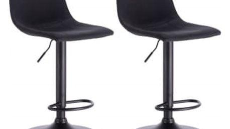 2 x Barová židle Hawaj CL-630-1 | černá