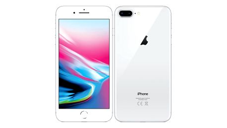 Apple iPhone 8 Plus 64 GB - Silver (MQ8M2CN/A)
