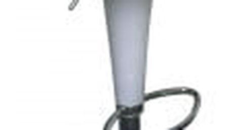 Barová židle CL-1213 WT bílá