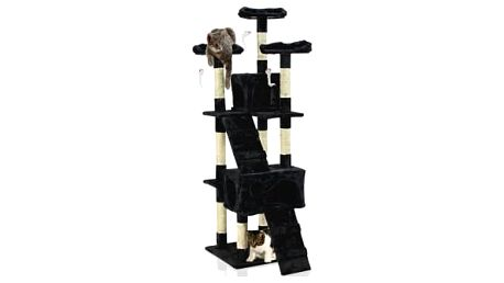 Škrabadlo pro kočky Hawaj 170 cm | černá