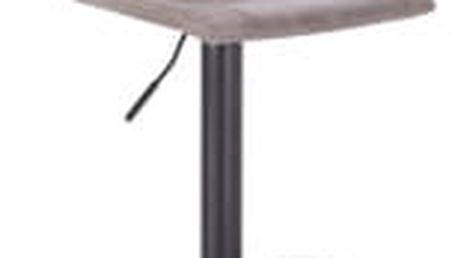Barová židle Hawaj CL-630-1 | světle šedá