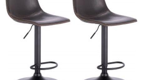 2 x Barová židle Hawaj CL-845 | tmavě šedá