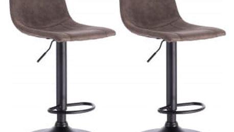 2 x Barová židle Hawaj CL-630-1 | Taupe (šedohnědá)