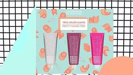 COMPAGNIE DE PROVENCE Krém na ruce - Pretty Hands Trio - set 3 kusů, multi barva, plast, papír