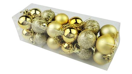 Vánoční koule - 24 kusů