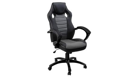 Kancelářská židle Hawaj Racing Deluxe | šedo-černá