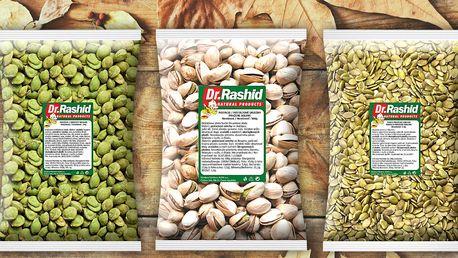Pražené, solené oříšky a semínka na mlsání