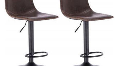 2 x Barová židle Hawaj CL-845 | hnědá