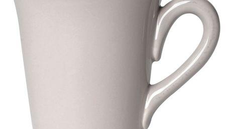 CÔTÉ TABLE Hrnek grey, šedá barva, keramika