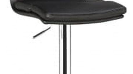 Barová židle CL-7006-2 BK černá
