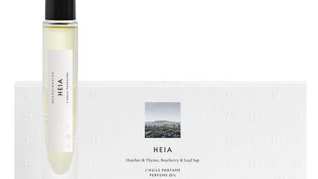 SKANDINAVISK Parfémovaný olej HEIA (vřesoviště) 8 ml, bílá barva, sklo