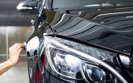 Ruční mytí exteriéru nebo interiéru vašeho auta