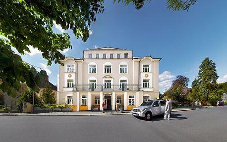 Hotel La Passionaria**** v Mariánkách pro 1 osobu s procedurami