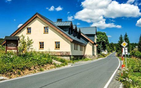 Jarní pohoda na Šumavě: apartmány s polopenzí