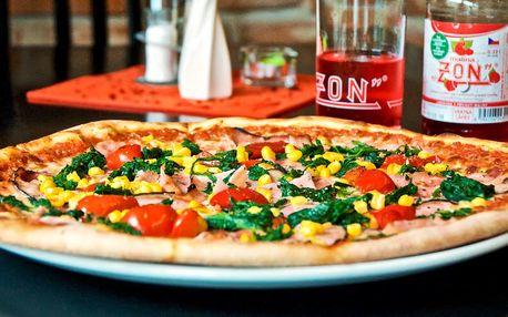Klasická pizza ze 12 druhů pro 1 nebo 2