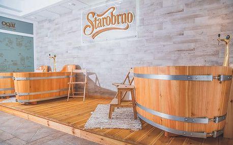 Relaxační pobyt u Luhačovic s pivní koupelí