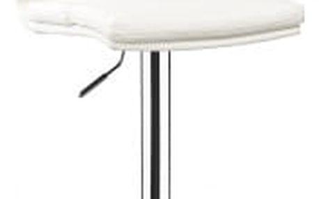 Barová židle CL-7006-2 WT bílá