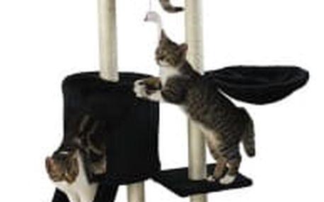 Škrabadlo pro kočky Hawaj 138 cm | černá