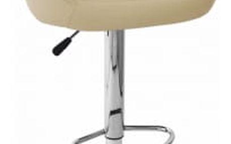 Barová židle Martina krémová
