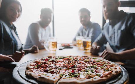 Akce 1 + 1 pizza zdarma ve stylové italské restauraci L'Osteria v Mikulově