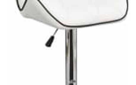Barová židle CL-3227 WB bílá
