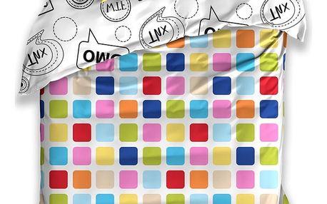 BedTex Bavlněné povlečení OMG, 140 x 200 cm, 70 x 90 cm