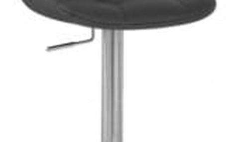 Barová židle CL-8023 BK černá