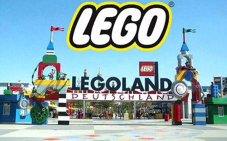 Jednodenní zájezd do Legolandu pro 1 osobu, jízda na vlnách, Lego City, autoškola, Duplo Express.