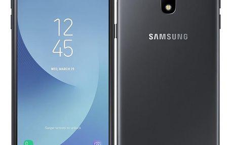 Mobilní telefon Samsung Galaxy J3 (2017) černý (SM-J330FZKDETL)