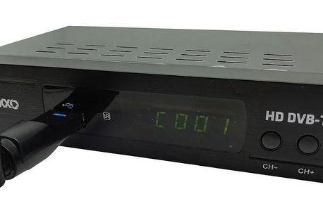 Maxxo T2 HEVC/H.265 Set-top box + WIFI adapt
