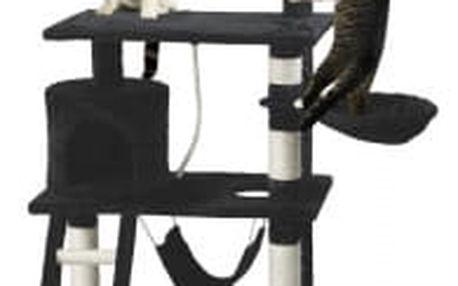 Škrabadlo pro kočky Hawaj 140 cm | černá