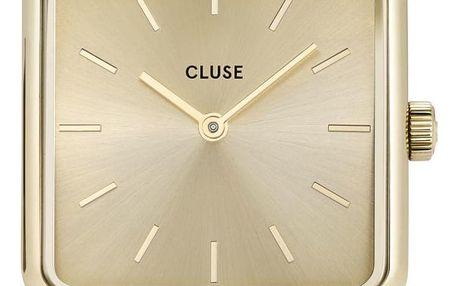 CLUSE Hodinky Cluse La Garconne Red/Gold, červená barva, zlatá barva, kov, kůže
