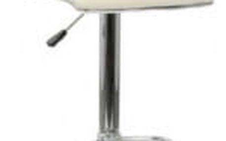 Barová židle CL-3233 WT krémová