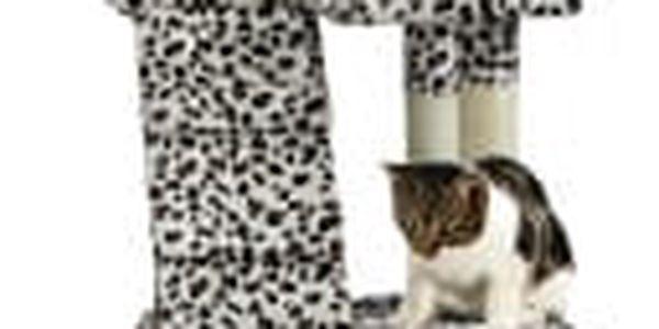 Škrabadlo pro kočky Hawaj 170 cm | leopardí vzor