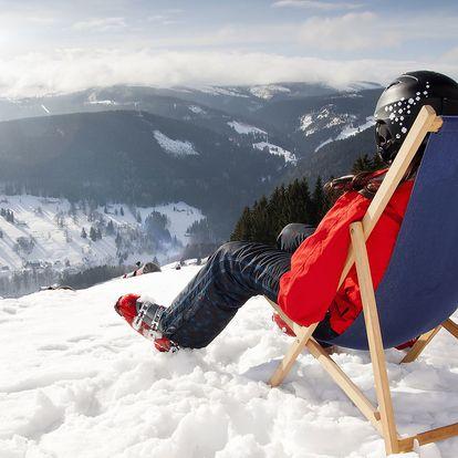 Hotel ***Star 1,2 v Krušných horách blízko Klínovce s wellness a polopenzí