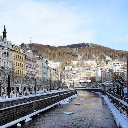 Hotel Adria v Karlových Varech se snídaní a parkováním zdarma