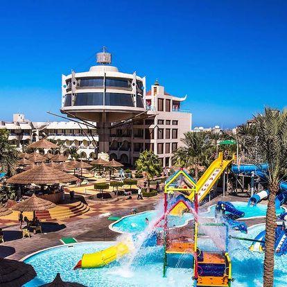 Egypt - Hurghada na 8 až 9 dní, all inclusive s dopravou letecky z Brna nebo Prahy, přímo na pláži