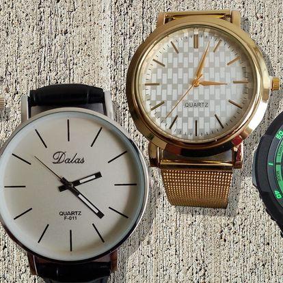Pánské a dámské hodinky pro volný čas i do práce