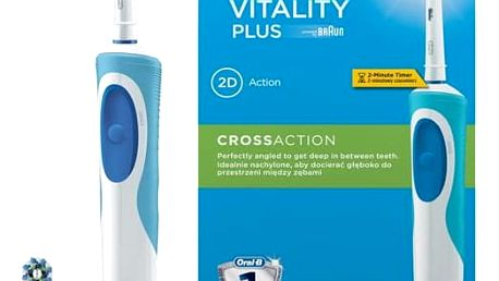 Oral-B Vitality Plus Cross action bílý