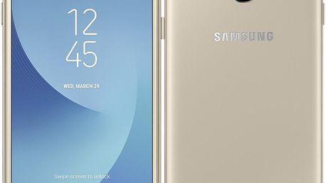 Mobilní telefon Samsung Galaxy J3 (2017) zlatý (SM-J330FZDDETL)