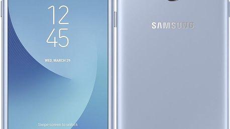 Mobilní telefon Samsung Galaxy J3 (2017) stříbrný (SM-J330FZSDETL)