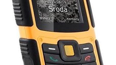 myPhone HAMMER 2 Dual SIM černý/oranžový (TELMYHHA2OR)