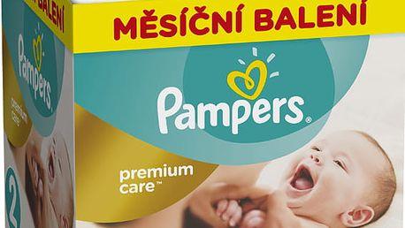 PAMPERS Premium Care 2 MINI 240 ks (3-6 kg) MĚSÍČNÍ ZÁSOBA – jednorázové pleny