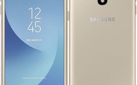 Samsung Galaxy J3 (2017) zlatý (SM-J330FZDDETL)