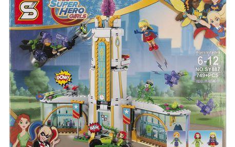 Super Hero Girls Stavebnice Girls Střední škola pro super hrdiny