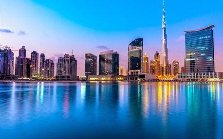 Spojené arabské emiráty - na 5 dní, snídaně s dopravou letecky z Prahy
